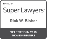 Super Lawyers Badge - 2019 Rick Bisher