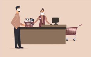 COVID-19 social distancing at work